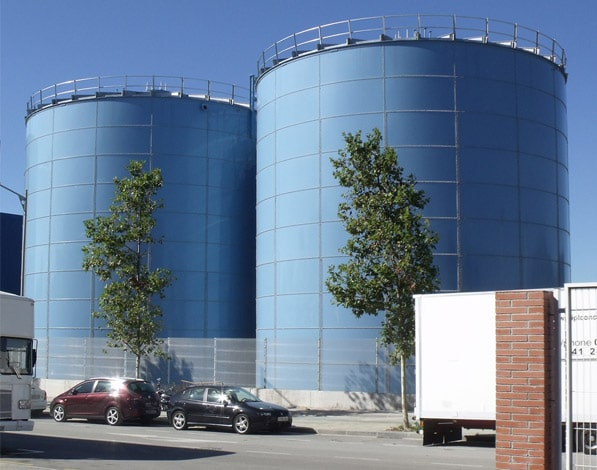 African tanks Anaerobic Digesters Tank