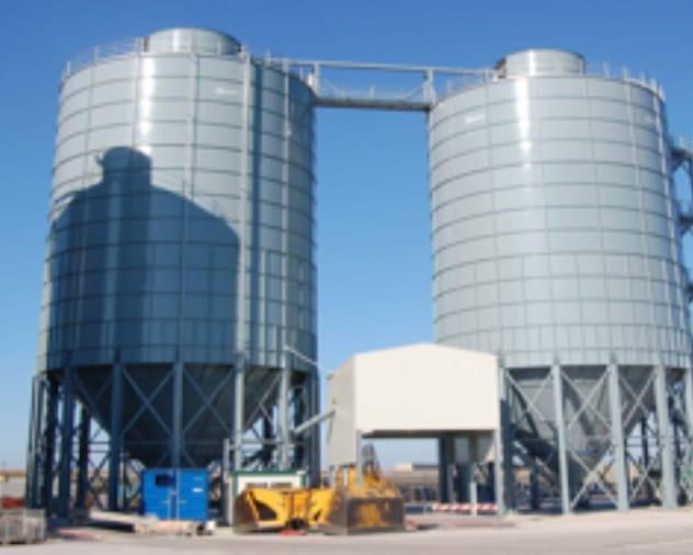 African tanks Dry Bulk Storage silos