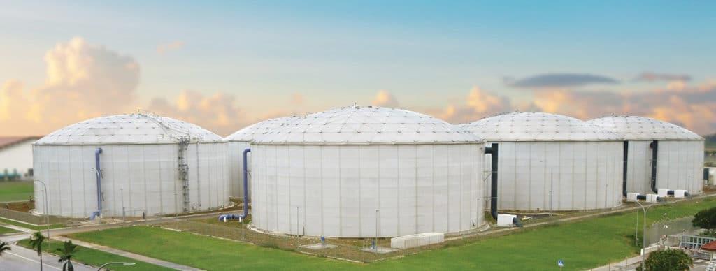 Water Storage Tanks in Botswana - African Tanks - Steel Storage Tanks